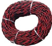 SUCHETA COPPER Multicolor 24 m Wire(Red,BlaCK)