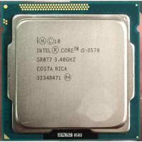 Intel CORE I5 3570 PROCESSOR ( 3RD GENERATION ) 3.4 GHz Upto 3.8 GHz LGA 1155 Socket 4 Cores 4 Threads 6 MB Smart Cache Desktop Processor(Silver)