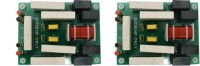 Electronic Spices PACK OF 2 D750 crossover network BOARD -High Frequency Electronic Components Electronic Hobby Kit