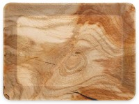 MILTON Splender Large Melamine Tray Matte Woodwind Tray(Tray)