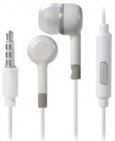 CRICSHOW 2 Pack All Mobiles Supported A10,M20,S10 Plus,A7,M10,A50 Wired Headset with Mic(White, In the Ear)