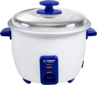 Flipkart SmartBuy Classic Electric Rice Cooker with Steaming Feature(1 L, Navy Blue, White)
