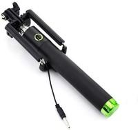 RRHR SALES Cable Selfie Stick(Black)