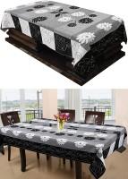 FAIRY HOME Black Polyester Table Linen Set