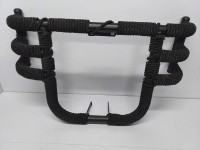 WHEETOYKART Airfly Leg Guard with Rope 3 Rod 3 Pipe Leg Guard with RopeW Bike Crash Guard(Royal Enfield)