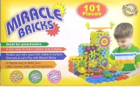 MGT CREATION Miracle Bricks Building Block Game for Kids (Multicolor)(Multicolor)