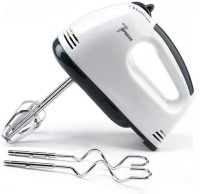 HSR Hand Mixer Electric with Turbo Handheld Kitchen Mixer Includes Beater, Dough Hook and Storage Case, Whisking Egg 300 W Stand Mixer(White)
