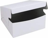 Sipco Cake Box Cardboard Packaging Box(Pack of 10 White)