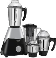 Maharaja Whiteline Infinimax Elite MX-225 750 W Mixer Grinder(Grey, Black, 4 Jars)