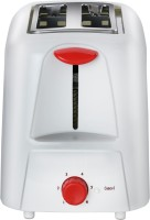Maharaja Whiteline Viva (PT-103) 750 W Pop Up Toaster(RED/WHITE)