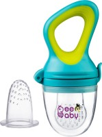 Beebaby Fresh Food & Fruit Silicone Nibbler with Extra Silicone Mesh (Blue) Teether and Feeder(Blue)
