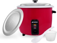 Sansui Prime Electric Rice Cooker(1.8 L, Burgundy Red)