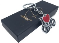Aura I Love Brother Best Bhaidooj Raksha Bandhan Gifting For Brother Bro Metal Gifting Key Chain