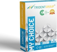 My Choice Trident Unruled A4 70 gsm Printer Paper(Set of 1, White)