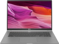 LG Gram Core i7 8th Gen - (8 GB/512 GB SSD/Windows 10 Home) Gram 17Z990 Thin and Light Laptop(17 inch, Dark Silver, 1.34 kg)