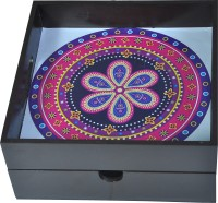 SRWOOD Classic Style Wooden Serving Tray Made In India SR1019 Tray(Tray)