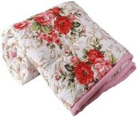 manbhar Polka Single AC Blanket(Microfiber, Mullti colour)