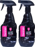 Flamingo Liquid Car Polish for Leather, Dashboard(500 ml)