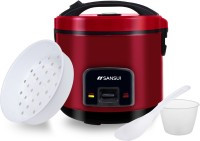 Sansui Deluxe Electric Rice Cooker with Steaming Feature(1.8 L, Maroon)