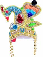Manhar Retails Mukut (Crown) Deity Ornament(Laddu Gopal, Ganesha)