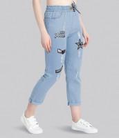 BuyNewTrend Skinny Women Light Blue Jeans