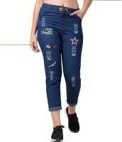 Funday Fashion Jogger Fit Women Blue Jeans