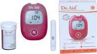 Dr.Aid Glucometer Red Glucometer(Red)