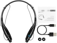 AZANIA HBS 730 SPORTS GAMING Bluetooth Headset with Mic(BLACK, In the Ear)