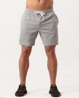 Vintage Clubwear Solid Men Grey Regular Shorts