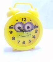 QUINERGYS Analog Yellow Clock
