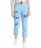 AE Fashion Jogger Fit Women Light Blue Jeans