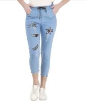 Charming Boutique Jogger Fit Women Blue Jeans