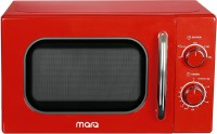 MarQ By Flipkart 20 L Retro Solo Microwave Oven(20AMWSMQR, Red Retro)