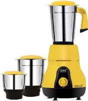 Orpat MG Kitchen Chef 650 W Three Jar 650 Mixer Grinder(Majestic yellow, 3 Jars)