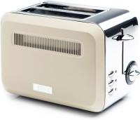 Haden Boston Cream Pyramid Toaster 815 W Pop Up Toaster(Cream)