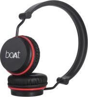 boAt Rockerz 400 Bluetooth Headset(Red, Black, On the Ear)