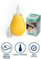 Romsons Baby Nasal Aspirator, Nose Cleaner for kids Manual Nasal Aspirator(White, Green)