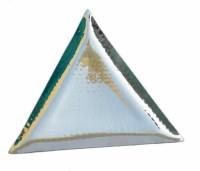 PARDEEP KHERA TRIANGULER SERVING PLATES Quarter Plate(3 Quarter Plate)