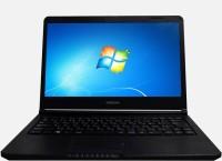 Hitachi Notebook APU Dual Core E1 - (4 GB/128 GB SSD/Windows 7 Home Basic) PC4RK5 - X81210E14 Laptop(13.3 inch, Black)