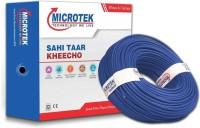 Microtek PVC Blue 90 m Wire(Blue)