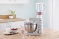Tefal MASTERCHEF GOURMENT Kitchen Machine 900 Mixer Grinder(Silver, 3 Jars)