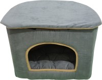Hiputee Elegant Durable Foam Velvet D Shape Toy Dogs Pet Cat Bed House Hut Cat, Dog, Tortoise House