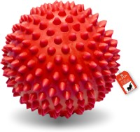 Jaspo Superbite Spike Hard Ball, TPU Material Puppy Teething Toy for Dogs & Pets (Red Color) Polyresin Ball For Dog