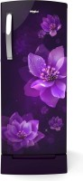 Whirlpool 200 L Direct Cool Single Door 4 Star Refrigerator(Purple Flume, 215 IMPRO Roy 4S Inv Purple Flume (71891))