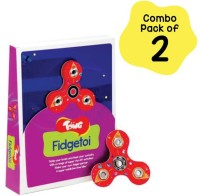 Toiing Fdgetoi Combo Pack of 2   DIY STEM Fidget Spinner   Fun Learning For Kids Age 5+ Years(Multicolor)