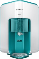 Havells Max 100% RO+ UV+ Mineralizer, 7 Ltr. RO Water Purifier with Revitalizer 7 L RO + UV Water Purifier(white, blue)