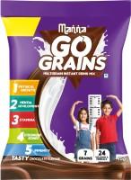 Manna Go Grain- Multigrain Instant Health Drink Mix Chocolate(15 g)