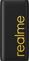 realme 20000 mAh Power Bank (Quick Charge 2.0, Power Delivery 2.0, 18 W)(Black, Lithium Polymer)