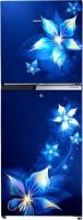 Voltas Beko 251 L Frost Free Double Door 2 Star Refrigerator(Emeria Blue, RFF2753EBCF)