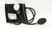 Hicks Dial type Sphygmomanometer Aneroid Bp Monitor(Black)